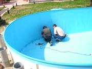Вкладыш в бассейн из пленочного покрытия ПВХ.