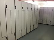 Шкафчики Hpl влагостойкие для раздевалок бассейнов,  мебель compact hpl