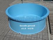 Бассейн детский полипропиленовый d-1.9 h-0.70 в Липецке